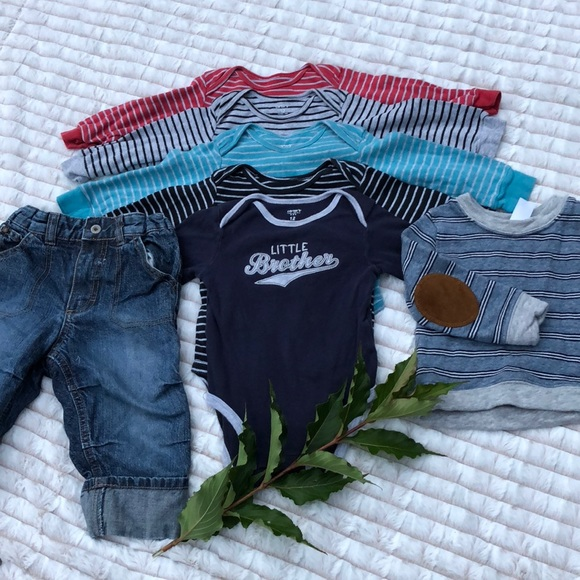 9f32b7b2ae451 7 pc lot of baby boy clothes size 12 months